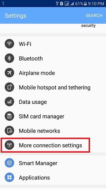 راهنمای اتصال به سرویس VPN در آندروید